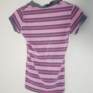Polo Pink Striped Shirt